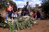 On February 4, 1976, Guatemala was struck by a major 7.5 magnitude earthquake, which contributed to the high death toll of 23.000 and about 80.000 wounded. It happened during the night and most adobe type houses in mountain villages collapsed. Buring the dead and carrying the wounded to far distant hospitals  was extremely difficult.