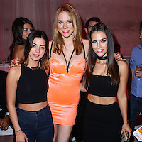 HOLLYWOOD, LOS ANGELES, CA, USA - AUGUST 18: Gia Mantegna, Maitland Ward, Jessica Lowndes at the Los Angeles Premiere Of Lionsgate Films' 'The Prince' After Party held at Supperclub on August 18, 2014 in Hollywood, Los Angeles, California, United States. (Photo by Xavier Collin/Celebrity Monitor)