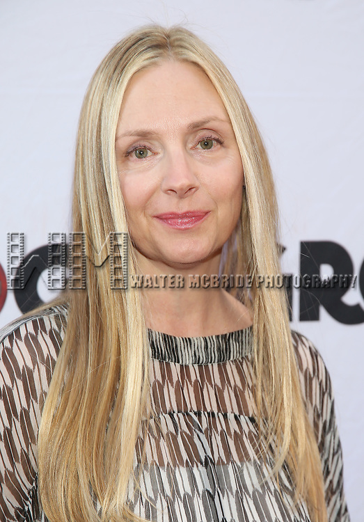 Hope Davis attends the Broadway Opening Night performance of 'Groundhog Day' at the August Wilson Theatre on April 17, 2017 in New York City