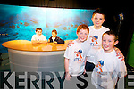 Pictured at the IT North Campus Creative Media Awards were l-r: TV Studio pictured were l-r: Tadgh Lynch and John Kelliher (all Gaelscoil Mhic Easmainn) Adam Burke, Adam Kavanagh and James Friel Gael (all Gaeilscoil Mhic Easmainn).