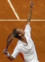 20030530, Paris, Tennis, Roland Garros, Martin Verkerk in zijn partij tegen Spadea