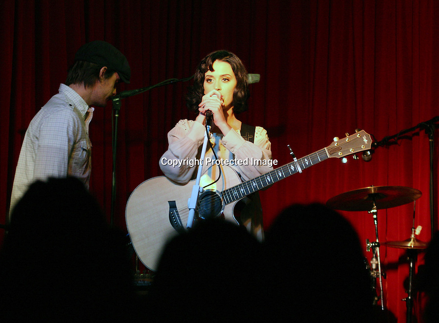 1-12-09  Monday night 10pm.Katie perry performed at a very small club called café hotel in Hollywood California. Katie had the flu but still played 8 songs. The show was only advertised in one newspaper and an email was sent out to her fan club. She was extremely nice & sounded fantastic. Tickets were only $12. ...www.AbilityFilms.com.805-427-3519.AbilityFilms@yahoo.com