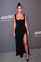 NEW YORK, NY - FEBRUARY 6: Kourtney Kardashian arriving at the 21st annual amfAR Gala New York benefit for AIDS research during New York Fashion Week at Cipriani Wall Street in New York City on February 6, 2019. <br /> CAP/MPI99<br /> ©MPI99/Capital Pictures