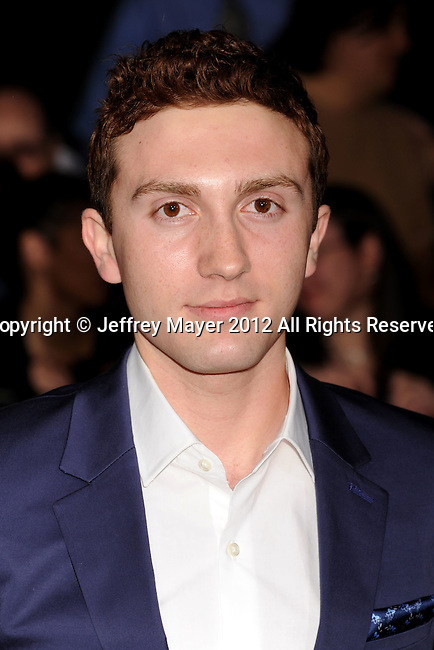 LOS ANGELES, CA - FEBRUARY 22: Daryl Sabara attends the 'John Carter' Los Angeles premiere held at the Regal Cinemas L.A. Live on February 22, 2012 in Los Angeles, California.
