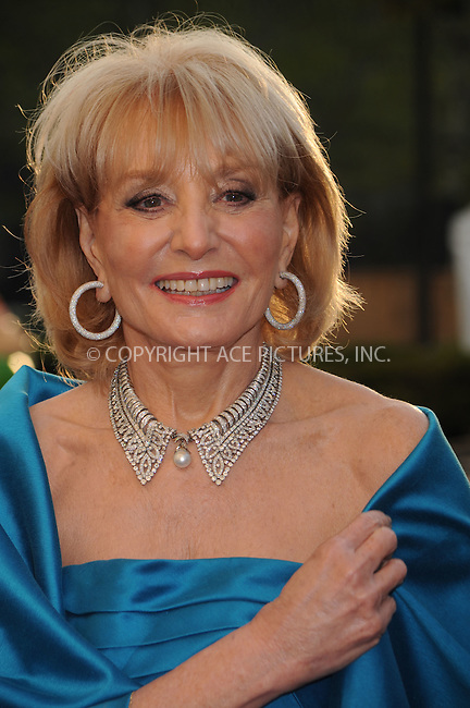 WWW.ACEPIXS.COM . . . . .....September 22, 2008. New York City.....TV personality Barbara Walters attends the Metropolitan Opera 125th Season Opening Night Gala held at the Lincoln Center Plaza on September 22, 2008 in New York City...  ....Please byline: Kristin Callahan - ACEPIXS.COM..... *** ***..Ace Pictures, Inc:  ..Philip Vaughan (646) 769 0430..e-mail: info@acepixs.com..web: http://www.acepixs.com