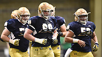 Offensive lineman Mike McGlinchey (68)