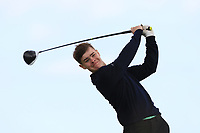 Ryan McNelis (Fintona) on the 10th tee during Round 4 of The East of Ireland Amateur Open Championship in Co. Louth Golf Club, Baltray on Monday 3rd June 2019.<br /> <br /> Picture:  Thos Caffrey / www.golffile.ie<br /> <br /> All photos usage must carry mandatory copyright credit (© Golffile | Thos Caffrey)