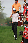 Matteo Manassero walking off the second tee on day one of the Abu Dhabi HSBC Golf Championship 2011, at the Abu Dhabi golf club 20/1/11..Picture Fran Caffrey/www.golffile.ie.