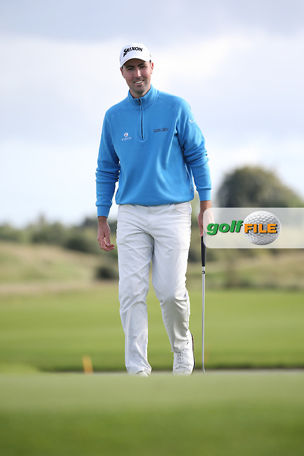 Niall KEARNEY (IRL) during the final round of  The 106th Irish PGA Championship, at the Moy Valley Hotel & Golf Resort, Kildare, Ireland.  25/09/2016. Picture: David Lloyd | Golffile.