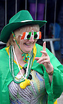 17-3-2014: Great colour during the St. Patrick's Day Parade in Killarney County Kerry on Monday.<br /> Picture by Don MacMonagle