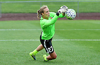 Piscataway, NJ - Saturday July 09, 2016: Caroline Casey prior to a regular season National Women's Soccer League (NWSL) match between Sky Blue FC and the Houston Dash at Yurcak Field.