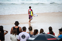 Pipeline, North Shore of Oahu, Hawaii Friday December 19 2014)  Julian Wilson (AUS). - The final stop of the 2014  World Championship Tour, the Billabong Pipe Masters in Memory of Andy Irons, was  ccompleted today in NW double overhead surf. <br /> Gabriel Medina (BRA) became the first ever Brazilian World Champion after both rival contenders , Kelly Slater (USA) and Mick Fanning (AUS) were eliminated from the contest. Medina went onto finish 2nd overall behind Julian Wilson (AUS). <br /> In the overlapping heat format Wilson surf three consequent heats and still had enough entry to take out the 30 minute final.<br /> By winning the final Wilson also won the covered Vans Triple Crown of Surfing for best overall performance through the whole Triple Crown.<br /> <br /> The Billabong Pipe Masters in Memory of Andy Irons will determine this year&rsquo;s world surfing champion as well as those who qualify for the elite tour in 2015. As the third and final stop on the Vans Triple Crown of Surfing Series  the event will also determine the winner of the revered three-event leg.<br /> <br />  Photo: joliphotos.com