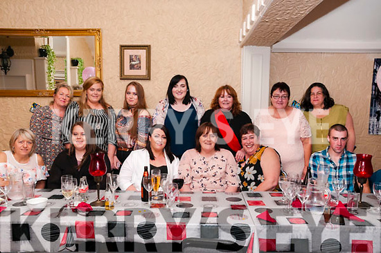 50th Birthday : Amanda Bohan, Tarbert, third from right front, celebrating her 50th birthday with family & friends at Eabha Joan's  Restaurant on Saturday night last.