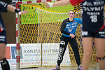 Bensheim, Germany, May 17: Ann-Cathrin Giegerich #16 of SG BBM Bietigheim looks on during the match between HSG Bensheim/Auerbach and SG BBM Bietigheim in the HBF 1. Bundesliga Damen Saison 2013/2014  on  May 17, 2014 at Weststadthalle Bensheim in Bensheim, Germany. Final score 21:26 (11:16) (Photo by Dirk Markgraf / www.265-images.com) *** Local caption *** *** Local  caption ***