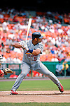 5 August 2007: St. Louis Cardinals All-Star first baseman Albert Pujols  in action against the Washington Nationals at RFK Stadium in Washington, DC. The Nationals defeated the Cardinals 6-3 to sweep their 3-game series...Mandatory Photo Credit: Ed Wolfstein Photo