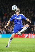 Nemanja Matic of Chelsea during the UEFA Champions League group match between Chelsea and FC Porto at Stamford Bridge, London, England on 9 December 2015. Photo by David Horn / PRiME