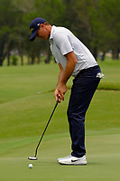 Jamie Arnold (AUS) on the 3rd green during round 4 of the Australian PGA Championship at  RACV Royal Pines Resort, Gold Coast, Queensland, Australia. 22/12/2019.<br /> Picture TJ Caffrey / Golffile.ie<br /> <br /> All photo usage must carry mandatory copyright credit (© Golffile   TJ Caffrey)