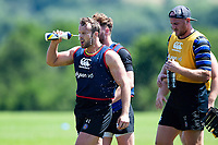 Michael van Vuuren of Bath Rugby. Bath Rugby pre-season training on July 2, 2018 at Farleigh House in Bath, England. Photo by: Patrick Khachfe / Onside Images