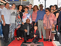 LOS ANGELES, CA. April 18, 2019: Sen Dog &amp; Family at the Hollywood Walk of Fame Star Ceremony honoring hip-hop group Cypress Hill.<br /> Pictures: Paul Smith/Featureflash