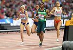 Lynsey SHARP (GBR) throws herself at the line in the womens 800m semi-final. IAAF world athletics championships. London Olympic stadium. Queen Elizabeth Olympic park. Stratford. London. UK. 11/08/2017. ~ MANDATORY CREDIT Garry Bowden/SIPPA - NO UNAUTHORISED USE - +44 7837 394578