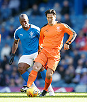 24.3.2018: Rangers legends match:<br /> Michael Mols and Marvin Andrews