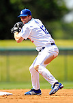 13 March 2007: Los Angeles Dodgers second baseman Jeff Kent in action against the Detroit Tigers during a spring training game at Holman Stadium in Vero Beach, Florida.<br /> <br /> Mandatory Photo Credit: Ed Wolfstein Photo