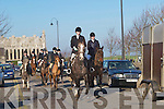 HUNT: Members of the North Kerry Harriers Hunt Club on Sunday in Ardfert.    Copyright Kerry's Eye 2008