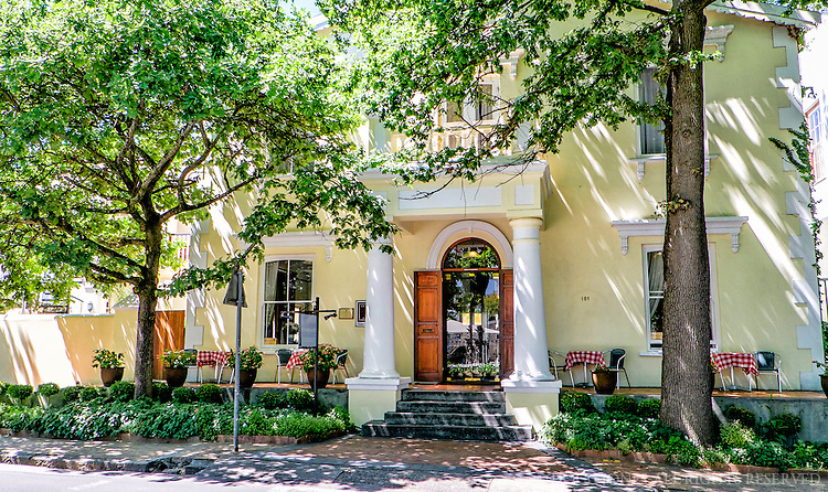 Our accommodations in Stellenbosch.  A lovely place.