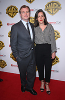 29 March 2017 - Las Vegas, NV -  Christopher Nolan, Emma Thomas. 2017 Warner Brothers The Big Picture Presentation at CinemaCon at Caesar's Palace.  Photo Credit: MJT/AdMedia