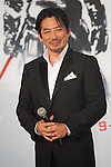 August 28, 2013 : Tokyo, Japan – Japanese actor Hiroyuki Sanada appears at the Japan Premiere for The Wolverine by James Mangold in the Roppongi Hills, Tokyo, Japan. (Photo by Yumeto Yamazaki/AFLO)