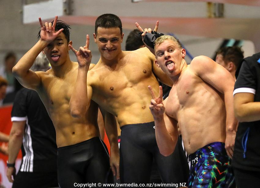 Swimming New Zealand Aon National Age Group Championships, Wellington Regional Aquatic Centre, Wellington, New Zealand, Saturday 20 April 2019. Photo: Simon Watts/www.bwmedia.co.nz