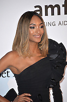 Model Jourdan Dunn at the amfAR Cinema Against AIDS Gala 2016 at the Hotel du Cap d'Antibes.<br /> May 19, 2016  Antibes, France<br /> Picture: Paul Smith / Featureflash