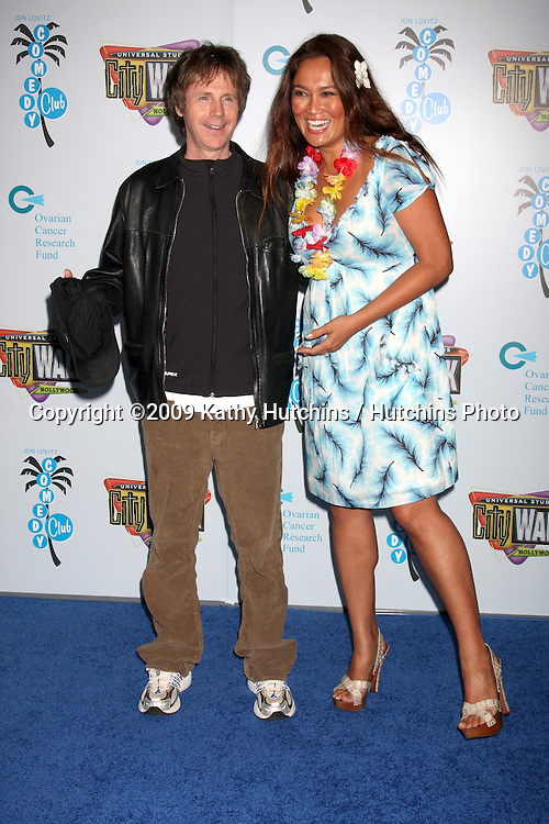 Dana Carvey & Tia Carrere (both were in Wayne's World) arriving at the Opening of The Jon Lovitz Comedy Club at Universal City Walk in Los Angeles, CA  on May 28, 2009 .©2009 Kathy Hutchins / Hutchins Photo..