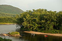 Paddling on the Connecticut River, Maidstone, Vermont