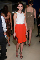 Nora Zehetner posing at the One Frickin Day Charity Auction Event to launch Model Behavior on November 12, 2010 at Christie's in New York.