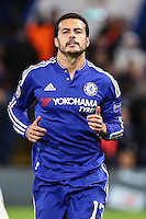 Pedro Rodriguez of Chelsea during the UEFA Champions League group match between Chelsea and FC Porto at Stamford Bridge, London, England on 9 December 2015. Photo by David Horn / PRiME