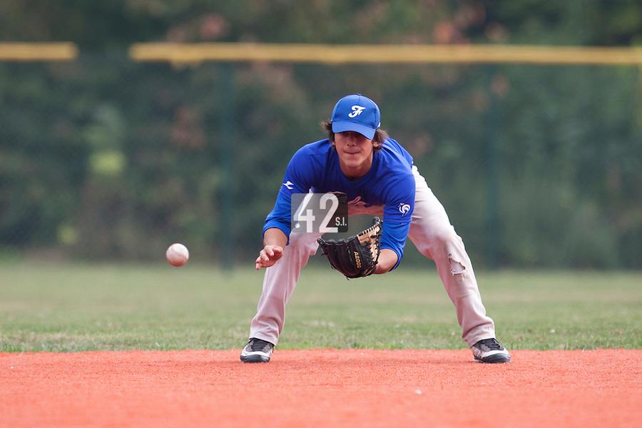 23 September 2009: Pole Baseball Rouen, Maxime Lefevre