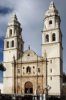 Church of our Lady of Purisima Concepcion, XVII century, changed into the Cathedral in 1895, Campeche, Yucatan, Mexico Picture by Manuel Cohen