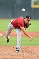 Arizona Diamondbacks pitcher Brad Keller during an Instructional League game against the Colorado Rockies on October 8, 2014 at Salt River Fields at Talking Stick in Scottsdale, Arizona.  (Mike Janes/Four Seam Images)