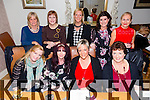 Having a girls night at Bella Bia's pn Friday Pictured Front L-R Joanne O Connor, Chrisrina McNabb, Louise O Shea, Julie Neenan Back L-R Ann Jones, Kerry O Conner, Ann O Conner, Jackie Mullins and Susan Field from Rora Motion Monavalley Tralee