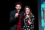 "Paco Leon and Alexandra Pereira attends to the presentation of the ""Proyecto Sonrisas"" at Gran Teatro Principe Pio in Madrid. March 23, 2017. (ALTERPHOTOS/Borja B.Hojas)"