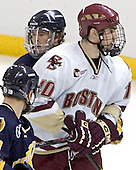 Scott Drewicki, Brian Boyle - Boston College defeated Merrimack College 3-0 with Tim Filangieri's first two collegiate goals on November 26, 2005 at Kelley Rink/Conte Forum in Chestnut Hill, MA.