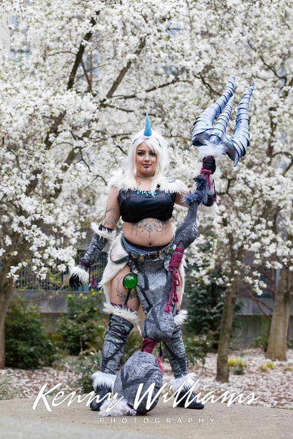Lupus Cosplay, Sakura Con 2018, Seattle, Washington, USA.