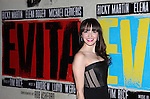 Christina DeCicco.attending the Broadway Opening Night Performance After Party for 'EVITA' at the Mariott Marquis Hotel in New York City on 4/5/2012