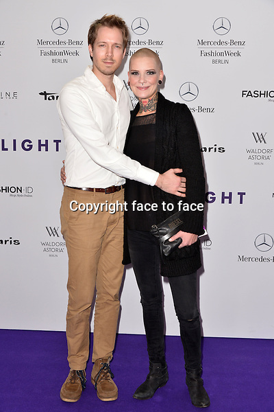 Judith van Hel (singer-The Voice of Germany) attending the STYLIGHT Fashion Blogger Awards fashion show during the Mercedes-Benz Fashion Week Autumn/Winter 2013/14 Berlin in Berlin 13.01.2014. Credit Timm/face to face