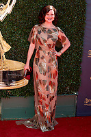 LOS ANGELES - APR 30:  Heather Tom at the 44th Daytime Emmy Awards - Arrivals at the Pasadena Civic Auditorium on April 30, 2017 in Pasadena, CA