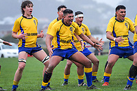 190731 Wellington 1st XV Rugby - Rongotai College v Silverstream