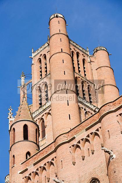 Europe/France/Midi-Pyrénées/81/Tarn/Albi: Cathédrale Sainte-Cécile - le Clocher