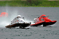Dan Trosen, Jr., (#77) and Hayden Jacobson, (#24)  (SST-45 class)