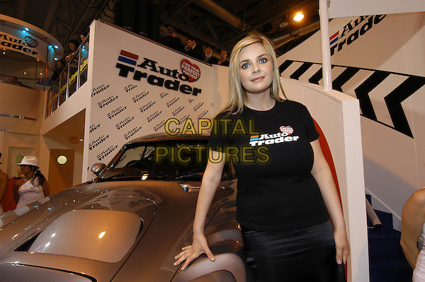 GAIL PORTER.At Photocall Motorshow, NEC Birmingham.May 26th, 2004.half length, half-length, car.www.capitalpictures.com.sales@capitalpictures.com.©Capital Pictures